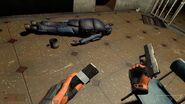Flashlight and pistol E1M1