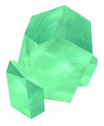 Crystal green brush