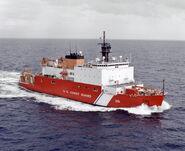 USCGC Healy cruise