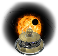 The Lab Solar System sun orrery
