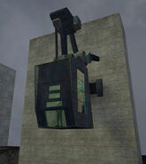 Guard tower up