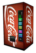 Black Mesa coca-cola machine