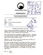 Decay memorandum