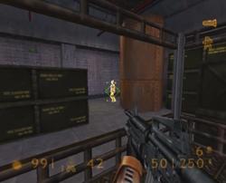 PS2 Lock on room