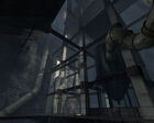 Area between Sphere 7 and Gas Pump Station Test Shaft 09 Portal 2