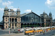 Western Railway Station in Budapest