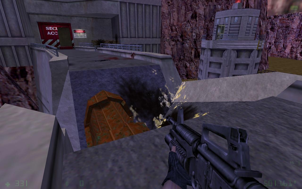 Dynamite dam destroyed