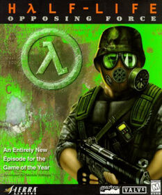 Half-Life Opposing Force Cover