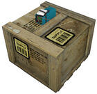 Supply crate beacon