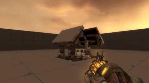 Half-Life 2 Leak Пустынная Установка