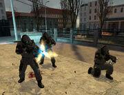 Nexus soldiers