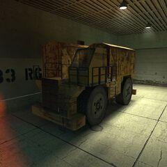 Camión del AirEx arreglado.