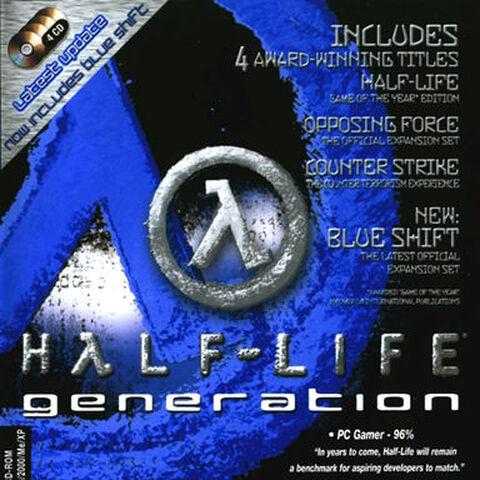 Carátula de la versión Blue Shift.