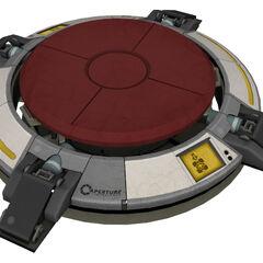 Modelo del Ultrabotón Activado en Portal 2