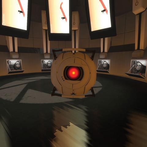 Un núcleo no utilizado en una versión preliminar de Portal 2