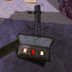 Vista de los controles del Mortero