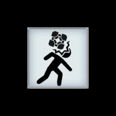 Símbolo de Cámara de Pruebas de caída de Cubos