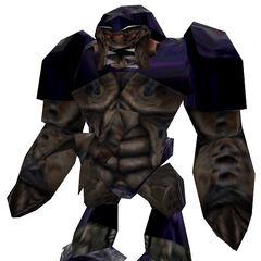 Modelo del Alien Grunt