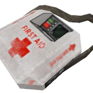 Botiquín de Salud como aparece en Half-Life