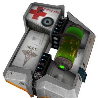 El Healthkit de Half-Life 2