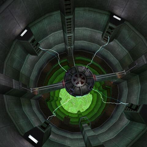 Vista aérea de Smithers sobre el generador