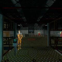 El campo de tiro de Black Mesa.