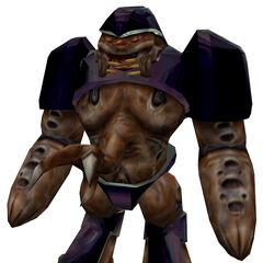 Modelo de Alta Resolución del Alien Grunt