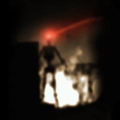 Textura encontrada en los archivos de la Beta jugable de Half-Life 2, basada en una captura de pantalla de un Acechador, usada originalmente para los mapas del WC Mappack
