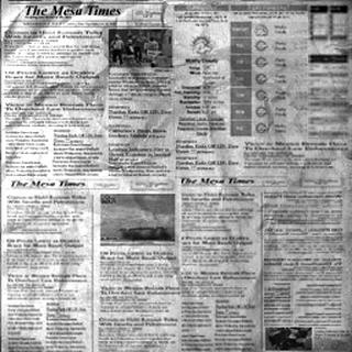 Texturas del Periódico