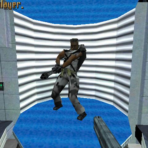 Sargento Humano en Half-Life Alpha