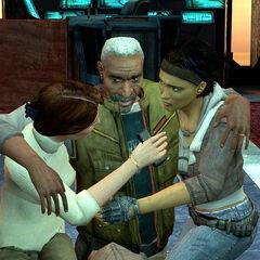 Mossman libera a Eli, Alyx y Gordon para atrapar a Breen