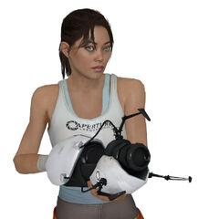 Modelo de Chell de Portal 2