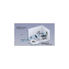 Un diagrama más actualizado, mostrando un embudo horizontal.
