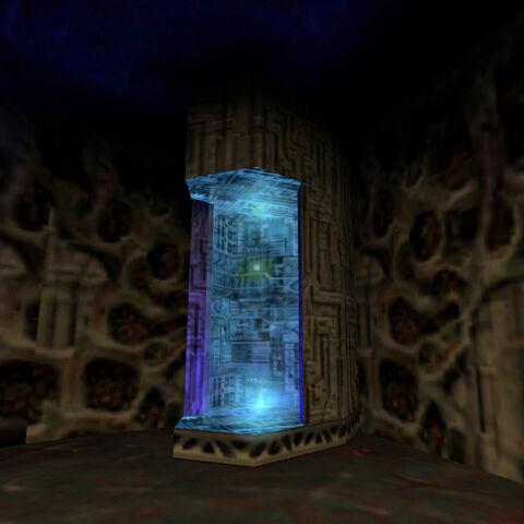 Cámara de Curación en la Fabrica de Alien Grunt