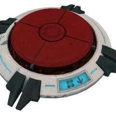 Modelo del Ultrabotón en Portal