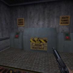 Controles de las puertas, control de la puerta norte averiado