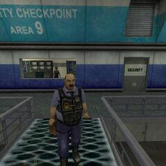 Llegada al Punto de Seguridad del Área 9