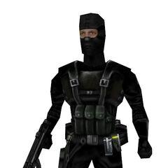 Modelo de Asesino Black Ops