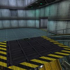 Plataforma mediante la cual se baja al siguiente piso