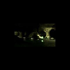 Captura temprana de Half-Life 2: Episode Two, donde se observa a el Vortigaunt de Victory Mine luchando contra Trabajadores Antlion
