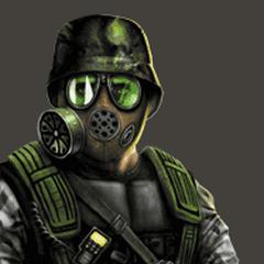 Shephard al revés cómo se ve en el sitio oficial de Opposing Force