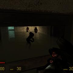 Zombis Emergiendo de el Agua en Half-Life 2