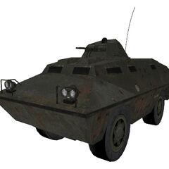 BRDM-2 / V-100 el segundo modelo conocido del APC