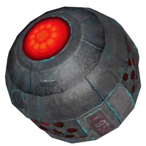 Modelo de la bomba en Episode Two