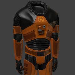 Modelo del Traje remasterizado de Half-Life Source