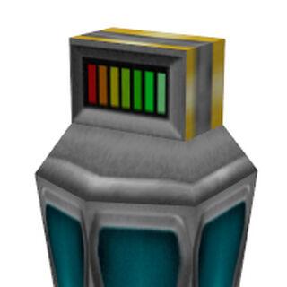 Batería cómo aparece en Half-Life: Day One