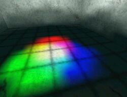 Coloured lightmaps