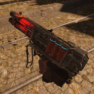 Escopeta con cargador automático