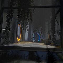 La radio sigue presente en la cámara de Relajación en Portal 2