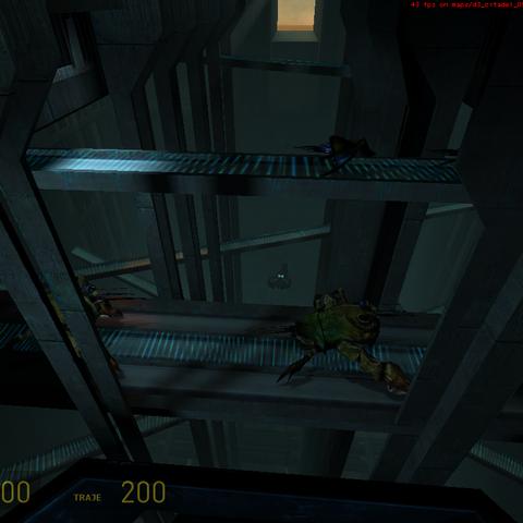 La aparicion del Mortar junto al cangrejo
